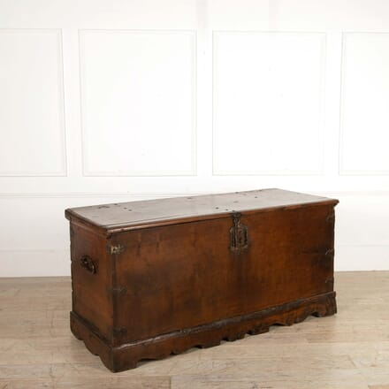 17th Century Walnut Trunk CB288456