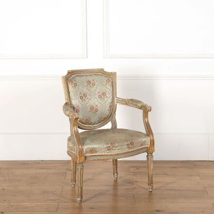 1890s French Giltwood Chair CH598537