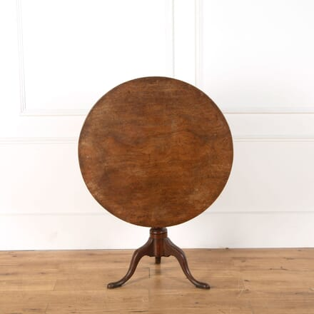 18th Century Mahogany Tripod Table TC478828