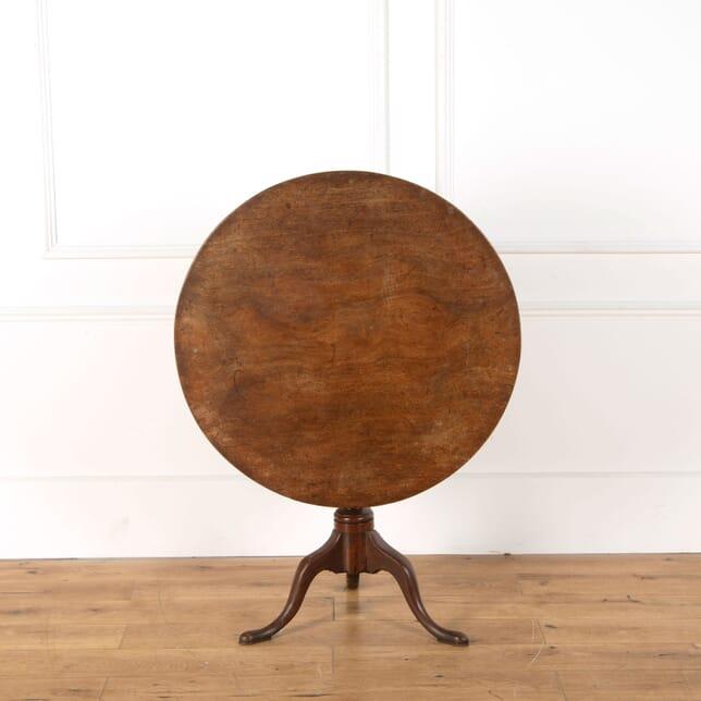 18th Century Mahogany Tripod Table TC478828