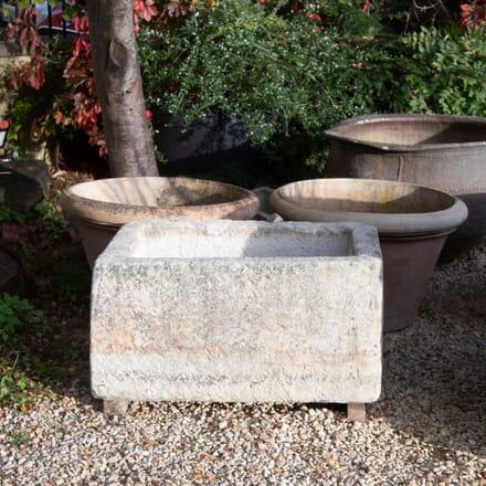 18th Century Natural Limestone Trough GA198023