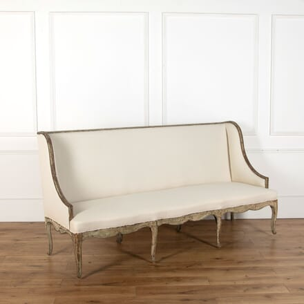 18th Century Provencal Sofa in Original Paint SB018854