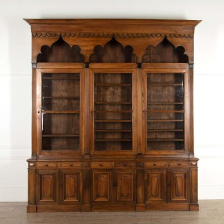 18th Century Walnut Bookcase BK288453