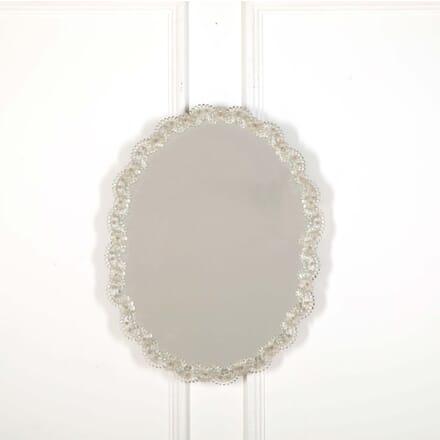 1930s Murano Oval Mirror MI598535