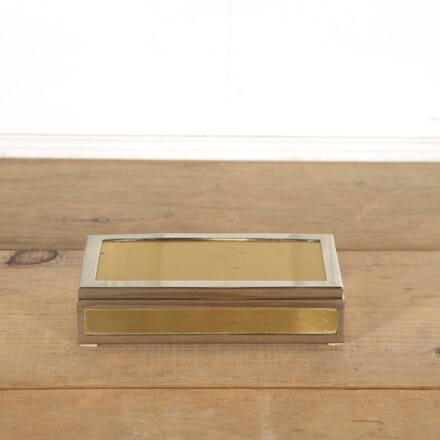 1970's Brass and Steel Box DA298305