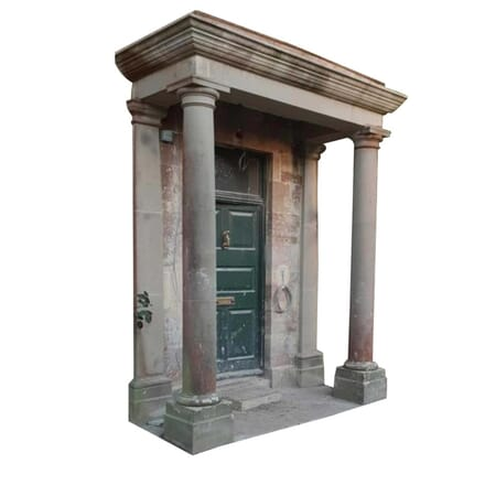 19th Century Forest of Dean Stone Pillared Portico GA4259450