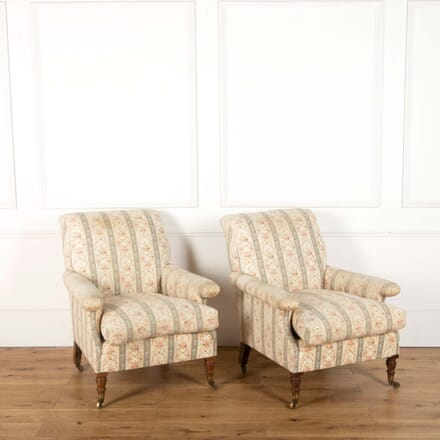 19th Century Howard Willoughby Armchairs CH108714