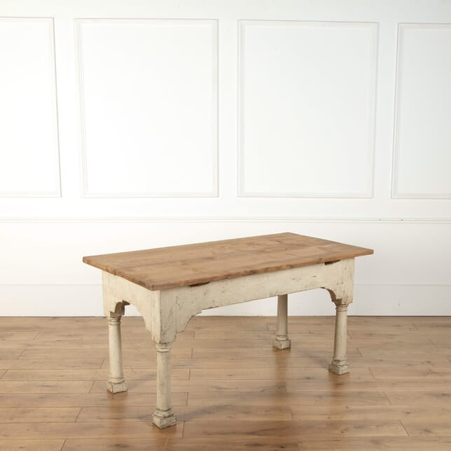 19th Century Kitchen Pantry/Preparation Table TS438388