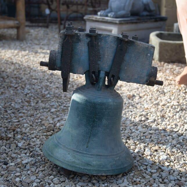 19th Century Quality Crown Top Bronze Bell GA428024
