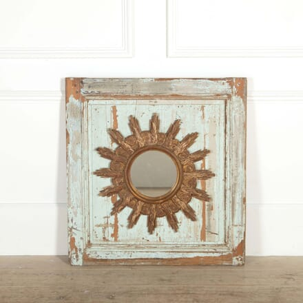 19th Century Sunburst Mirror MI208706