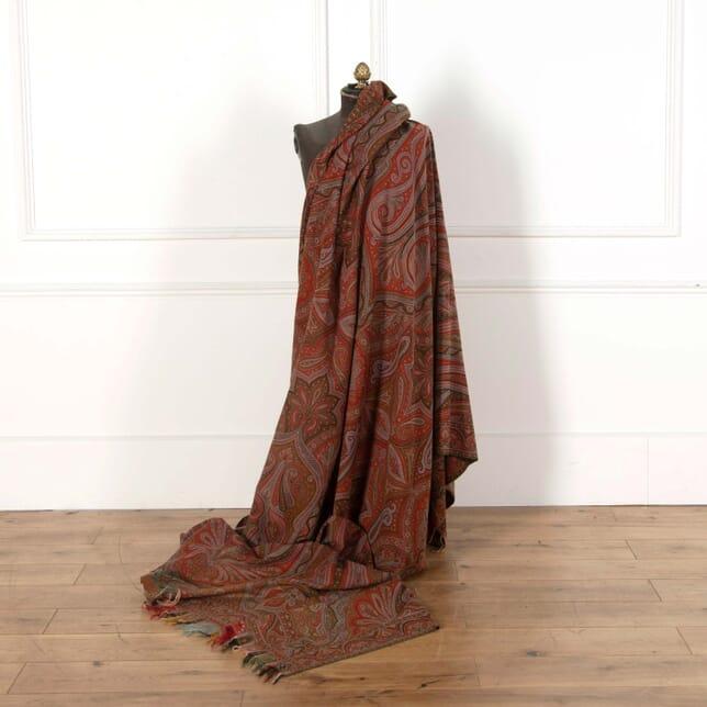 19th Century Woven Paisley Shawl DA518557