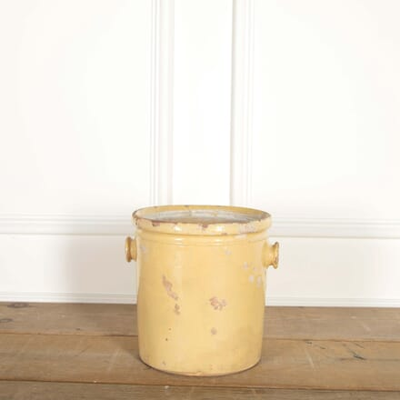 19th Century Yellow Glazed Pot DA448732