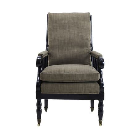 19th Century French Ebonised Armchair CH0661404