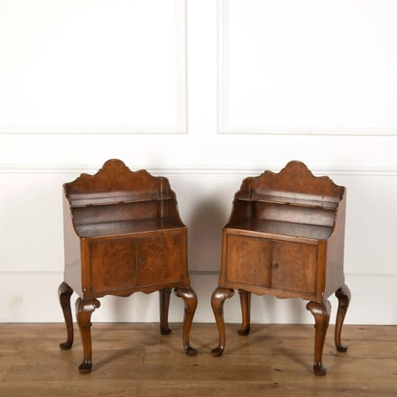 20th Century Burr Ash Bedside Tables BD108712