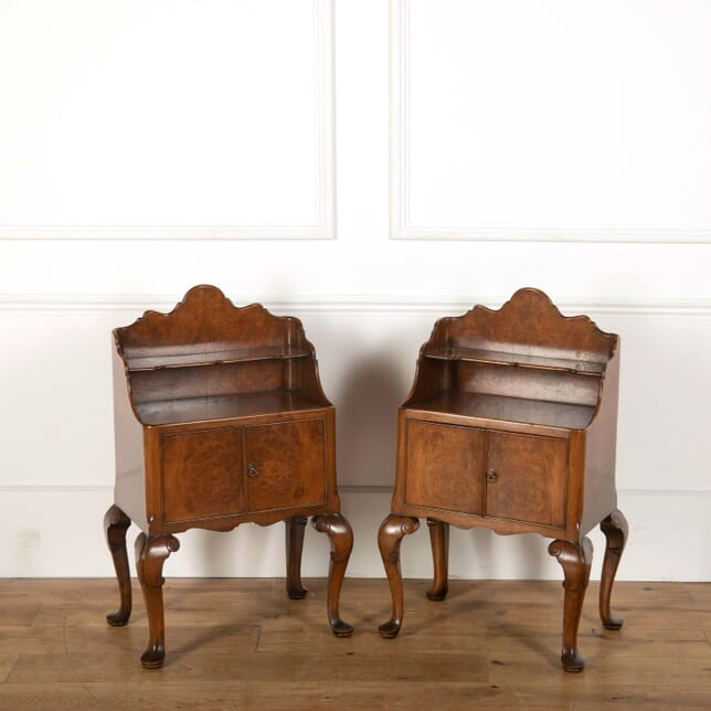 20th Century Burr Ash Bedside Tables BD108712