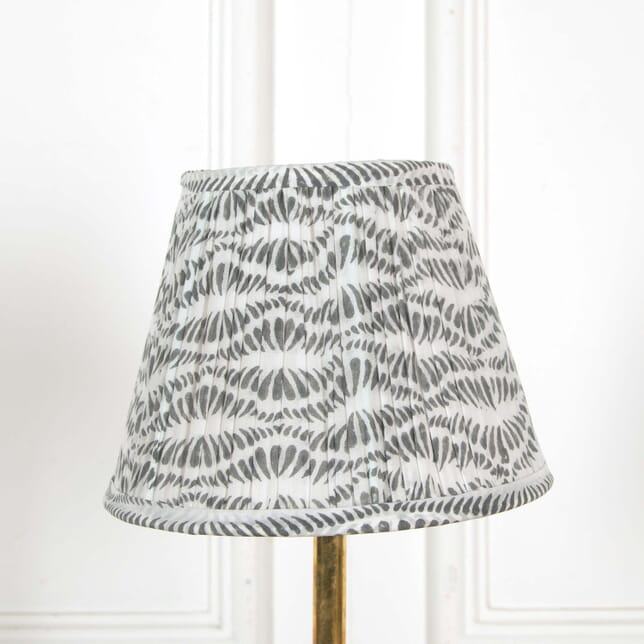 25cm White and Grey Lampshade LS668505
