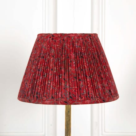 30cm Red and Black Lampshade LS668503