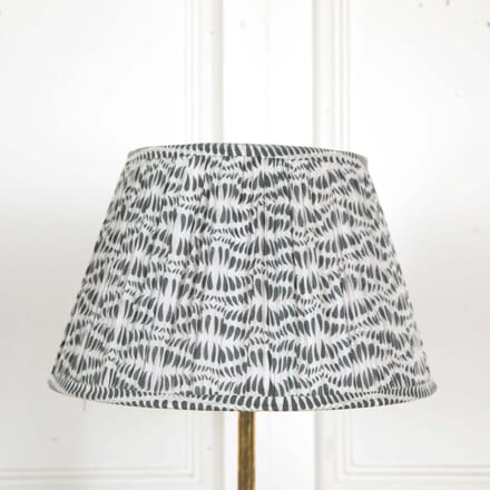 40cm White and Blue Lampshade LS668500