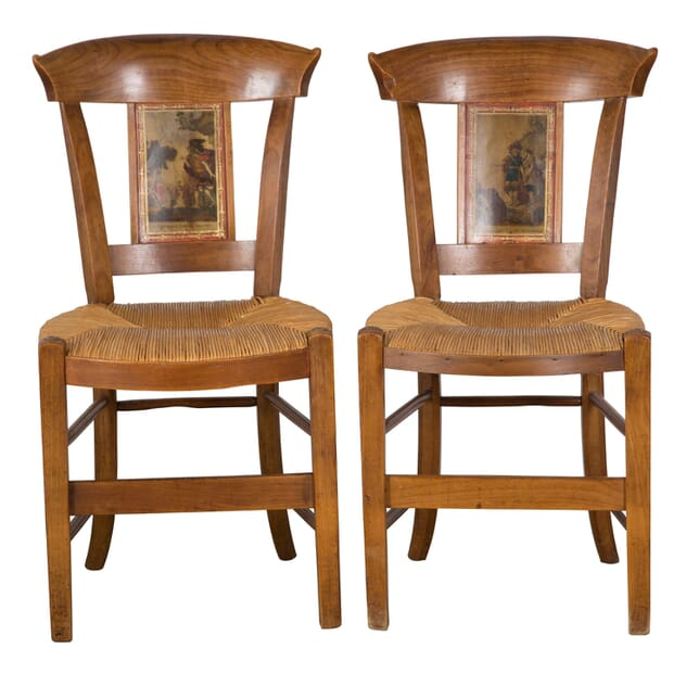 Pair of Period Directoire Chairs CH1558286