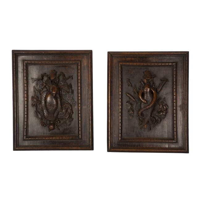 Pair of Decorative Carved Panels WD1558996
