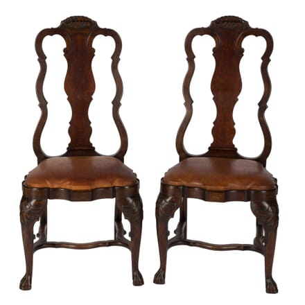 Pair Of Dutch Hall Chairs CH1559008