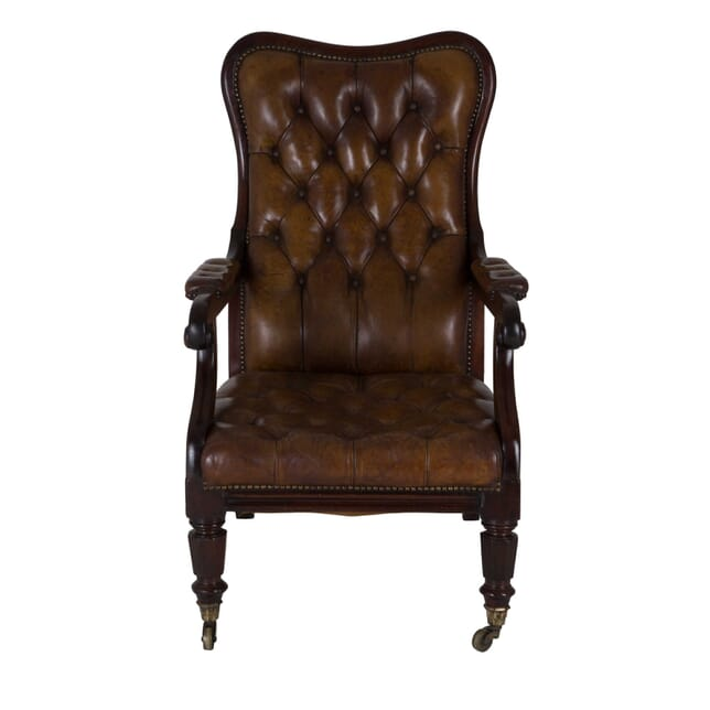 Early 19th Century Leather Chair CH0659367
