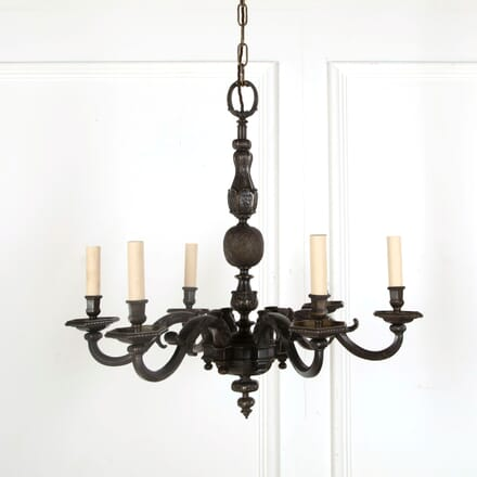 6 Branch Bronze Chandelier LC218041