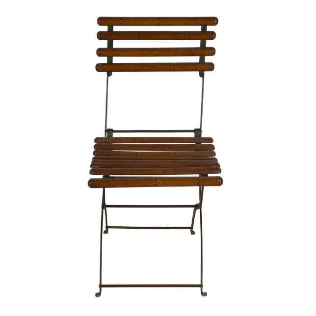 Rare Folding Café Chair CH1560636