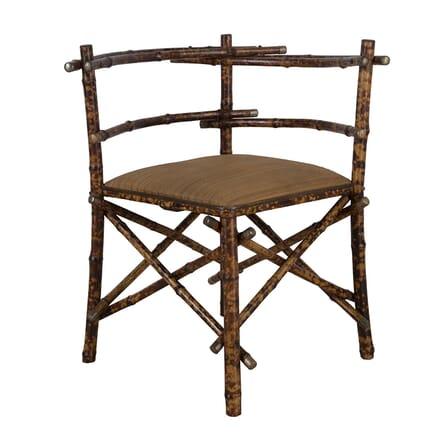 Rare Bamboo Corner Chair CH1560646