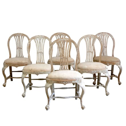 Set of 18th Century Swedish Dining Chairs CH1260882