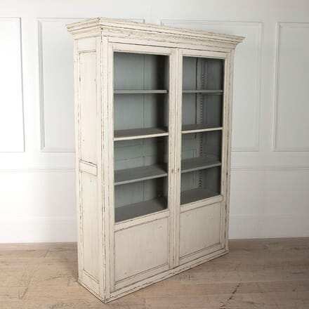 French Painted Bookcase BK4861486