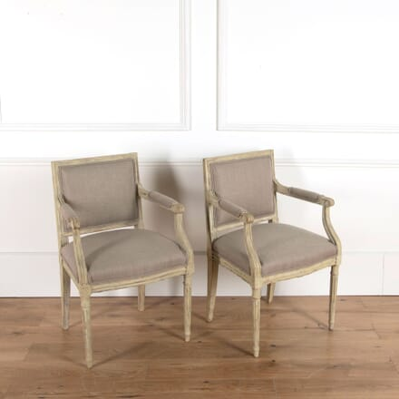 Louis XVI Fauteuil Armchairs CH7161542