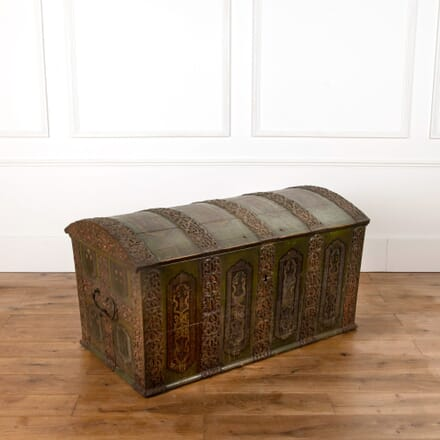 18th Century Scandinavian Painted Chest CB6862603