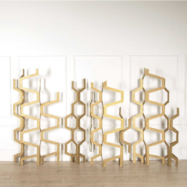 A Group of Sculptural Screens OF308257