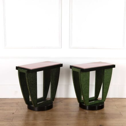A Pair of Art Deco Console Tables CO578242