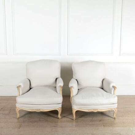 A Pair of French Painted Armchairs CH608207