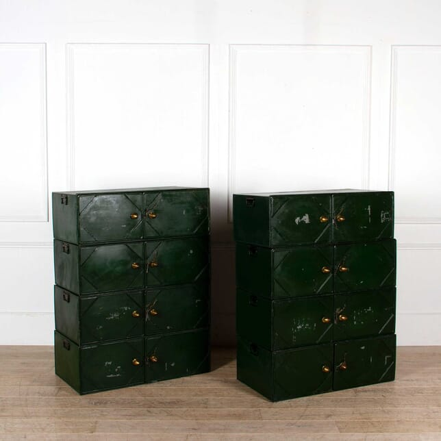 A Set of 8 Document Storage Boxes CB088230