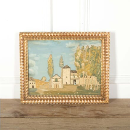American Folk Art; Needlepoint and Painting WD288527