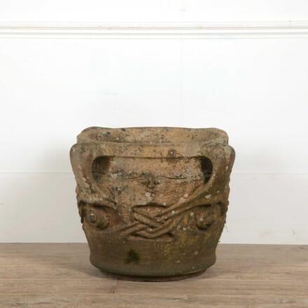 Archibald Knox Liberty Compton 'Olaf' Terracotta Pot GA098406
