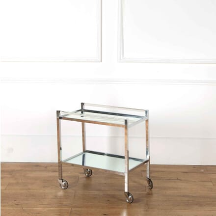 Arden Chrome and Lucite Bar Cart TS538194
