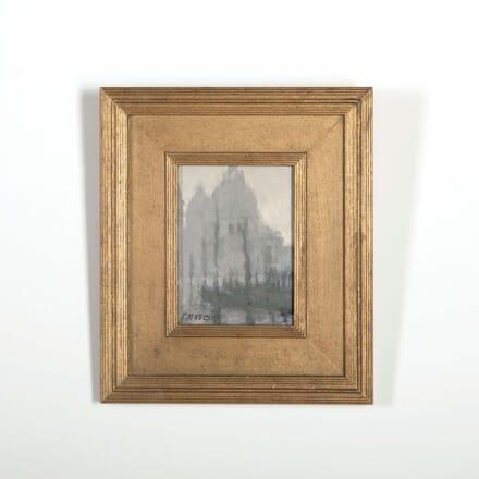 Atmospheric Venetian Scene by Pam Masco WD288525