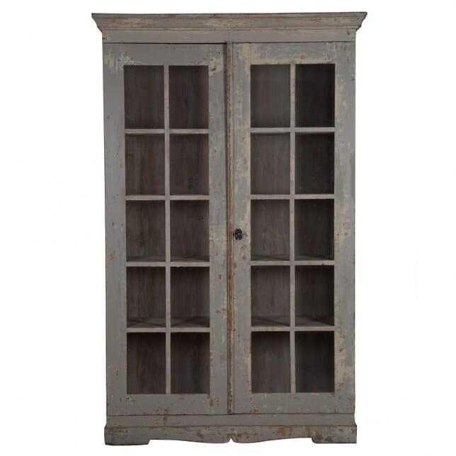 Late Gustavian Glazed Bookcase BK012880