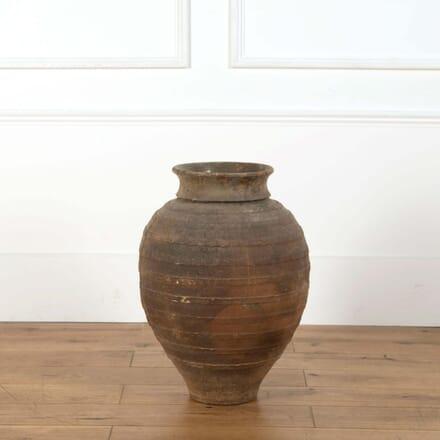 Black Spanish Terracotta Pot DA738787