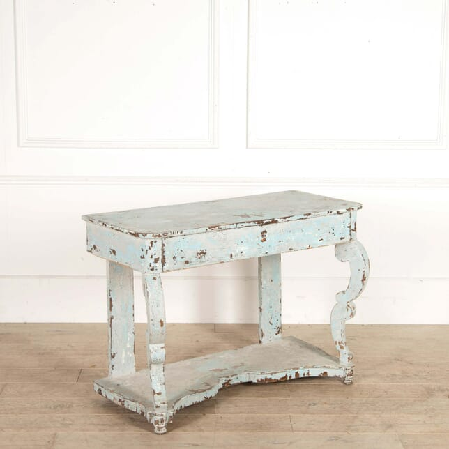 Blue Painted Console CO288464