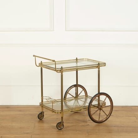 Brass Drinks Trolley / Bar Cart TS358293
