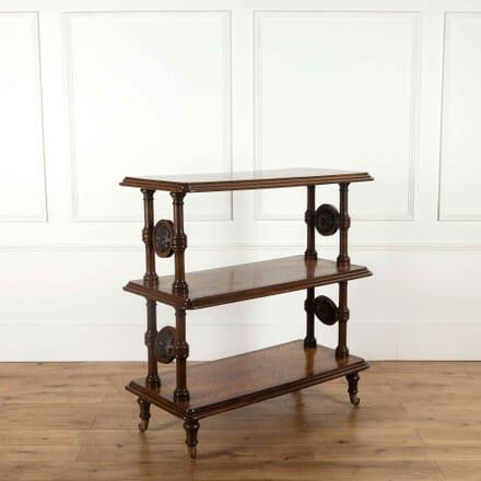 19th Century Oak Parquetry Buffet BU0358616