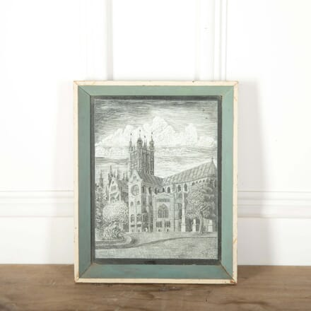 Canterbury Cathedral by Margaret Bellwood 1953 WD288524