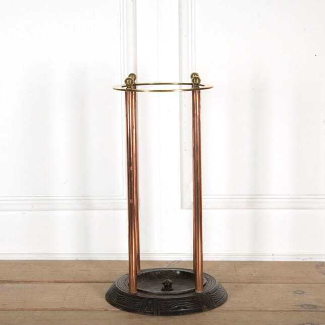 Cast Iron and Brass Umbrella Stand DA138354