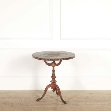Cast Iron Round Side Table or Cafe Table CO448741