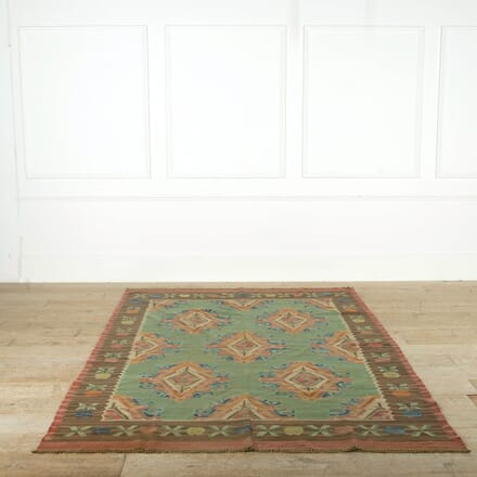 Caucasian Pale Blue Kilim RT998899